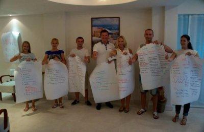 Тренинг для компании «Премьер Холидей» в Черногории