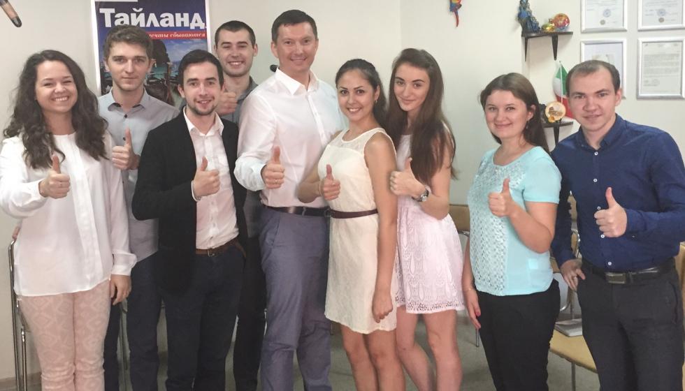 Тренинг для компании «Орион» г. Красноярск