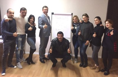 Тренинг для компании «Alliance» г.Тбилиси