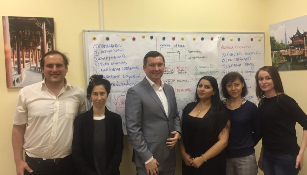 Тренинг для компании «Порталчайна.ру»