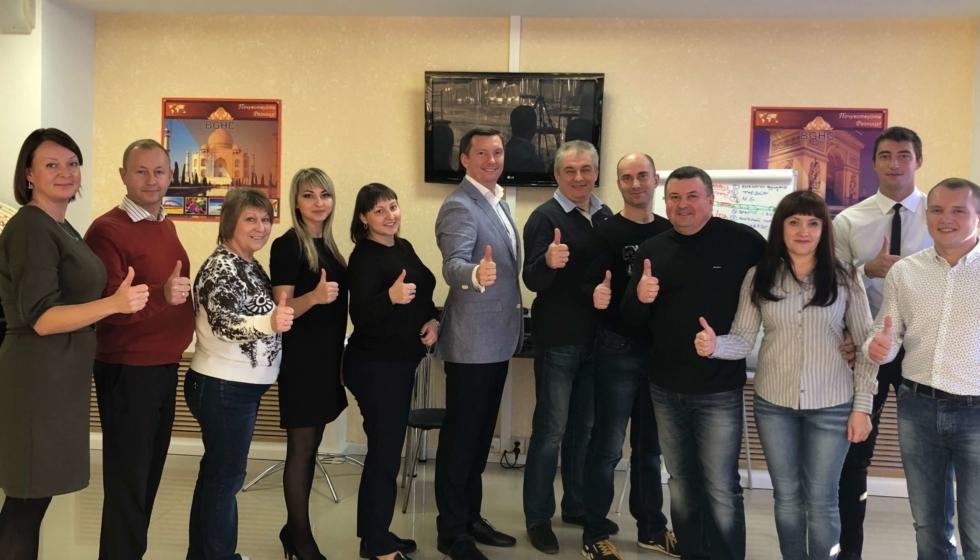 Тренинг для компании «Азимут 360» г.Воронеж