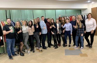 Тренинг для производителя верней одежды «Samange» г. Харьков